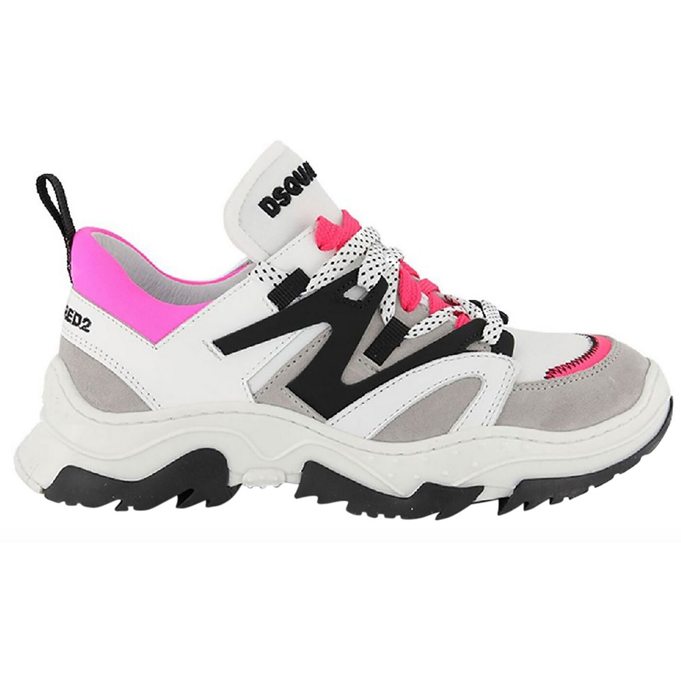 Dsquared2 schoenen wit fluo 67081