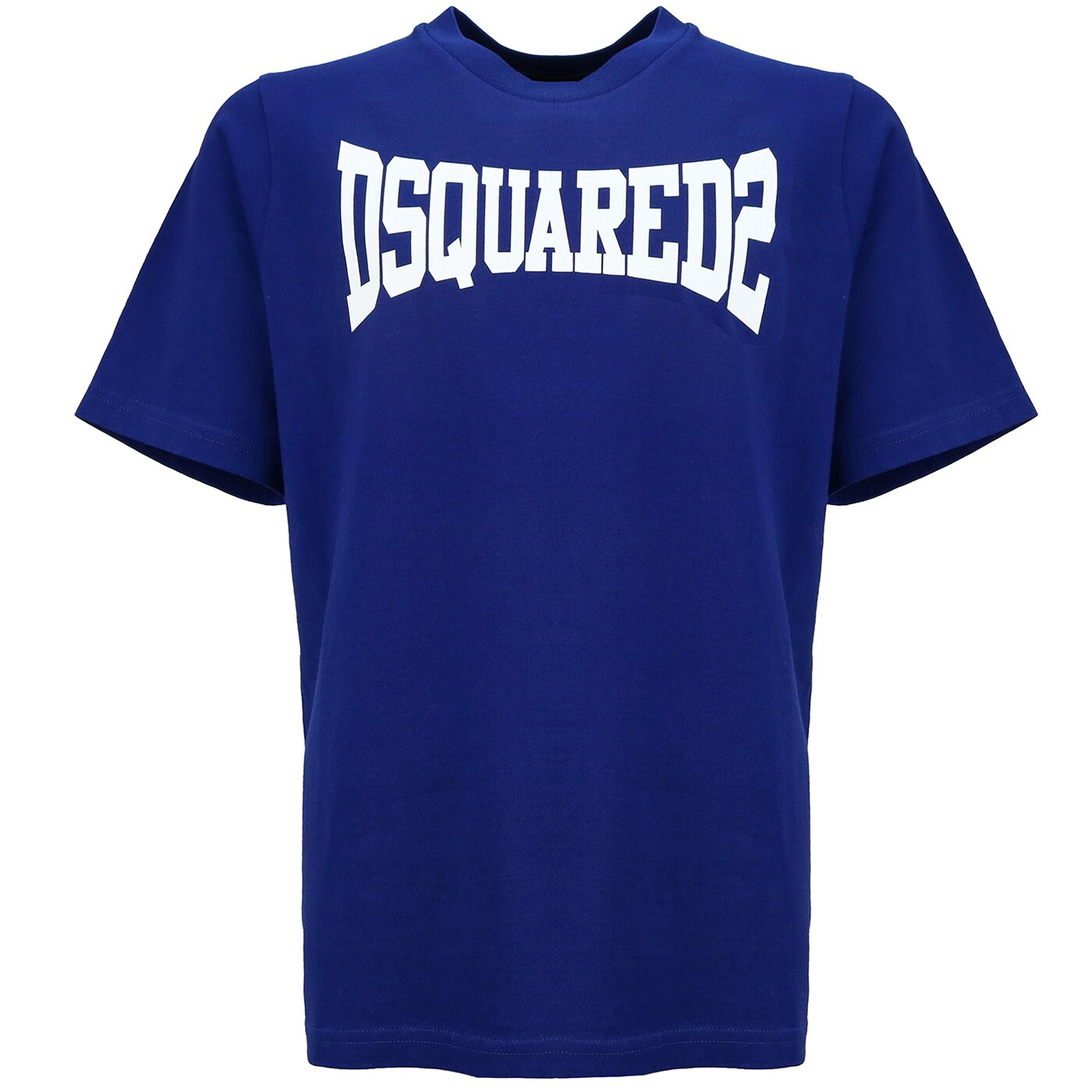 Dsquared2 Shirt DQ0156 Blauw Oversized Fit