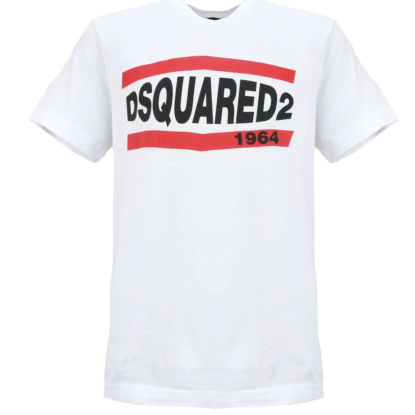 Dsquared2 Shirt 1964 Wit relax fit