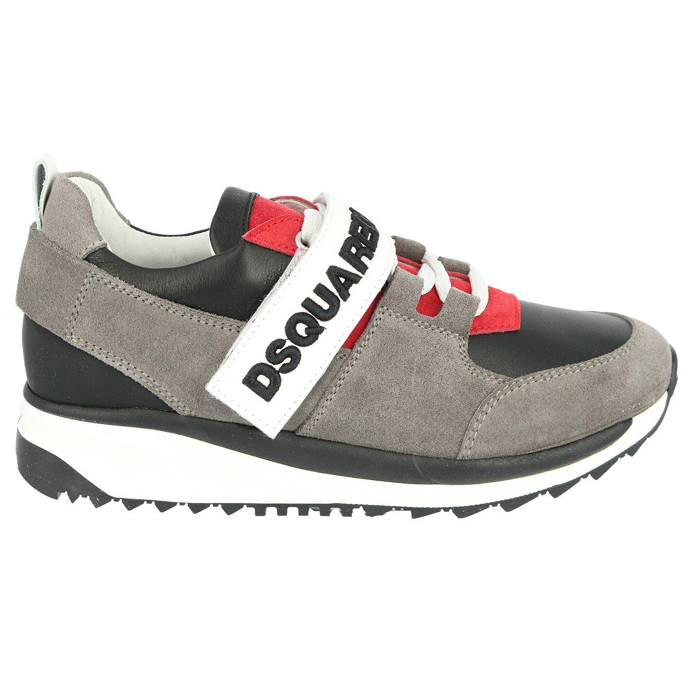 Dsquared2 Sneaker Grijs Zwart