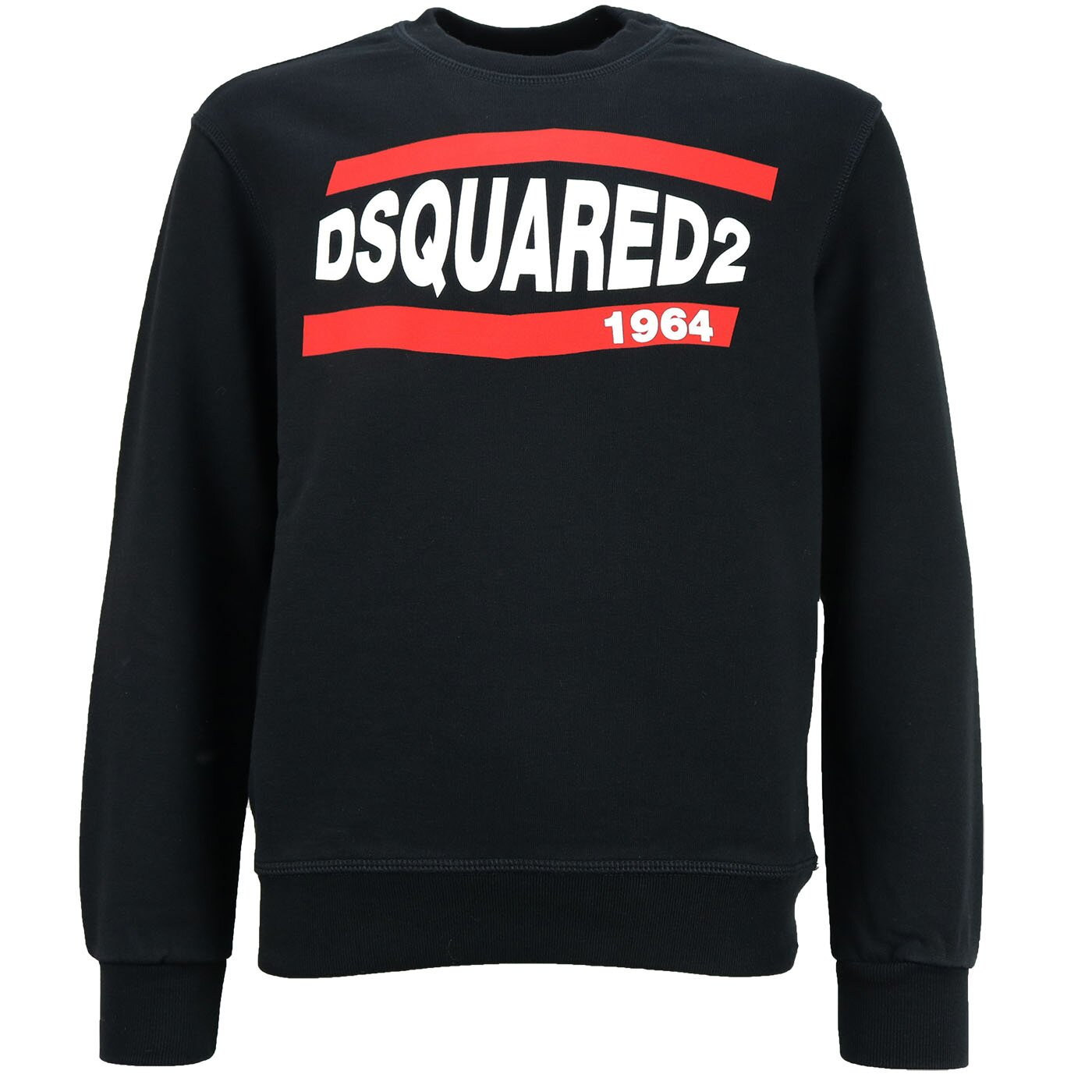 Dsquared2 Sweater 1964 Zwart relax fit