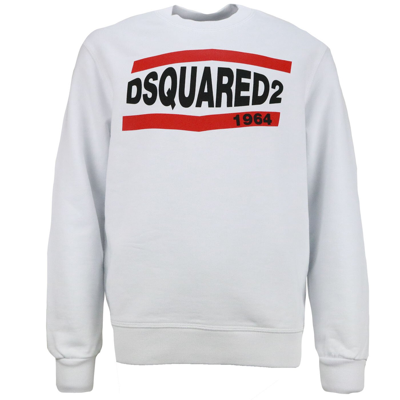Dsquared2 Sweater 1964 Wit relax fit