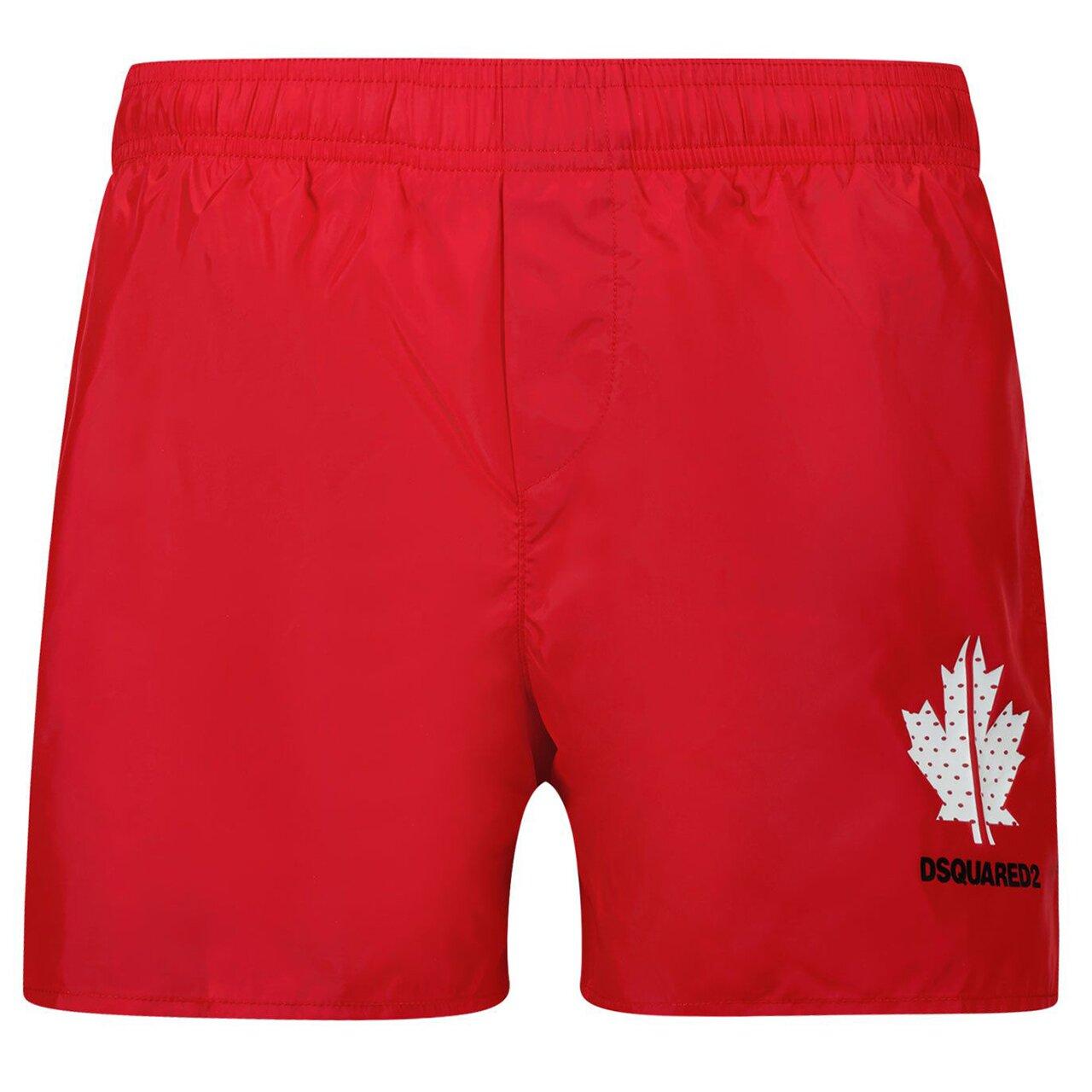 Dsquared2 Swim shorts Rood DQ0052