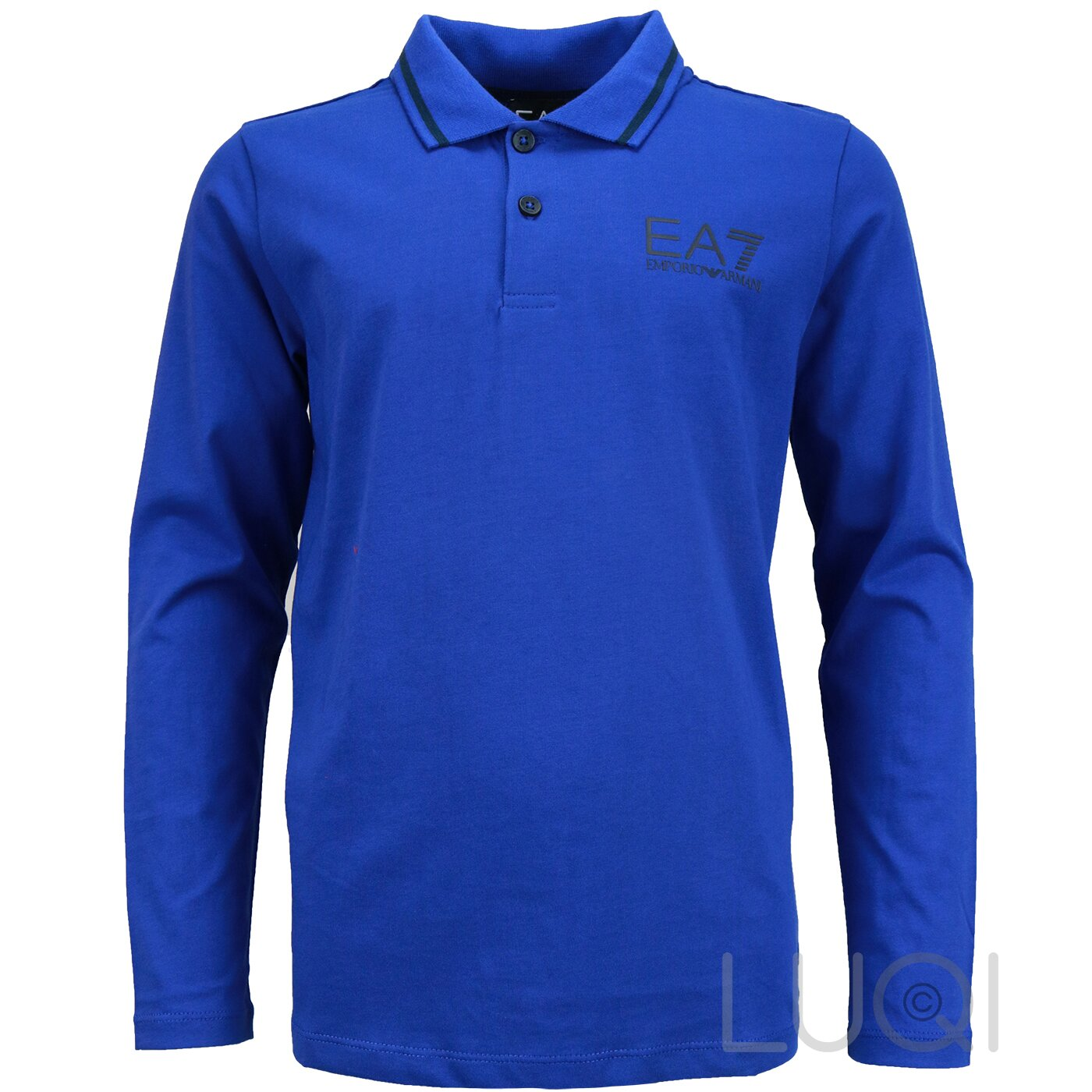 EA7 Polo Shirt Cobalt