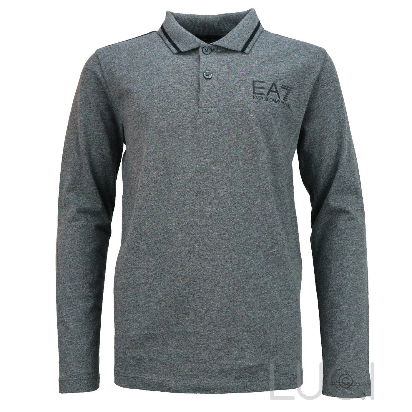EA7 Polo Shirt Grijs