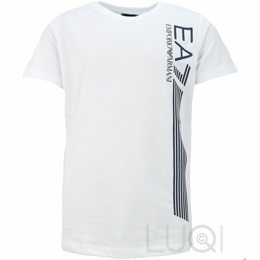 EA7 Logo Shirt Wit
