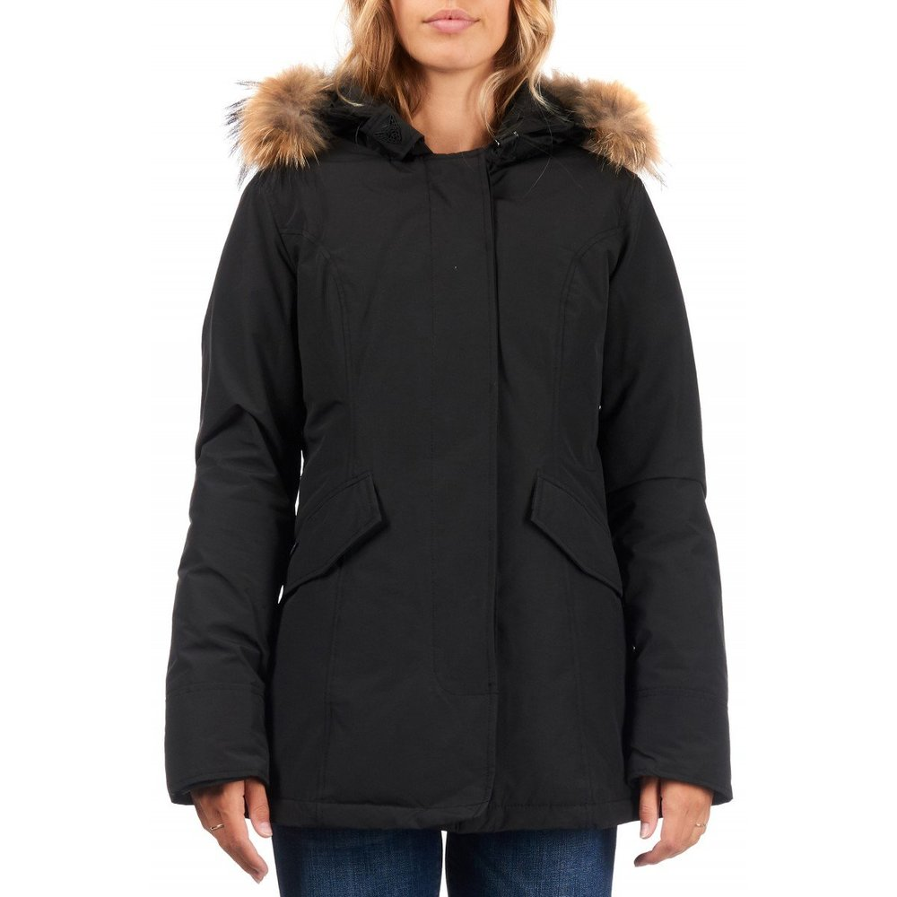Airforce 2 pocket Parka Polyester Women RF True Black