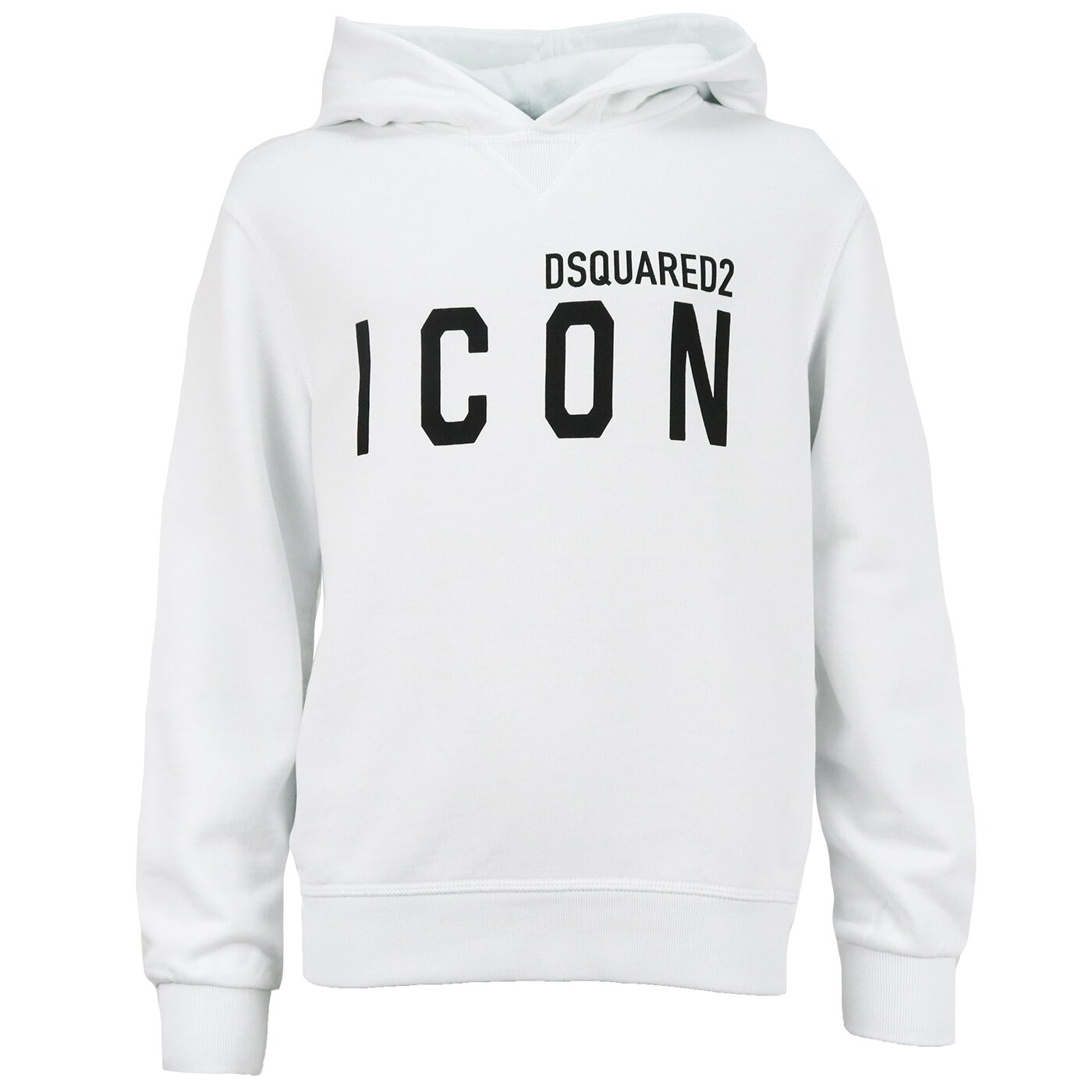 Dsquared2 Hoody Icon Wit Relax fit