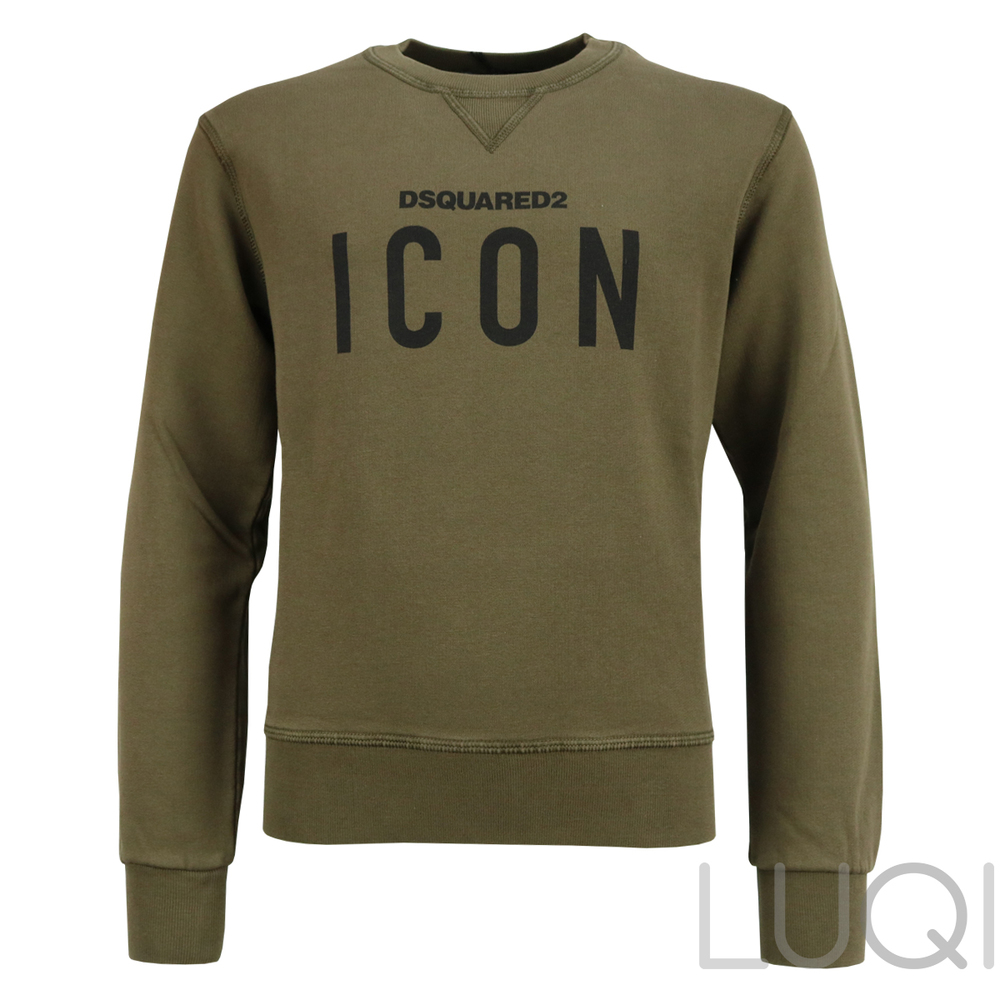 Dsquared² Icon Sweater Army Green