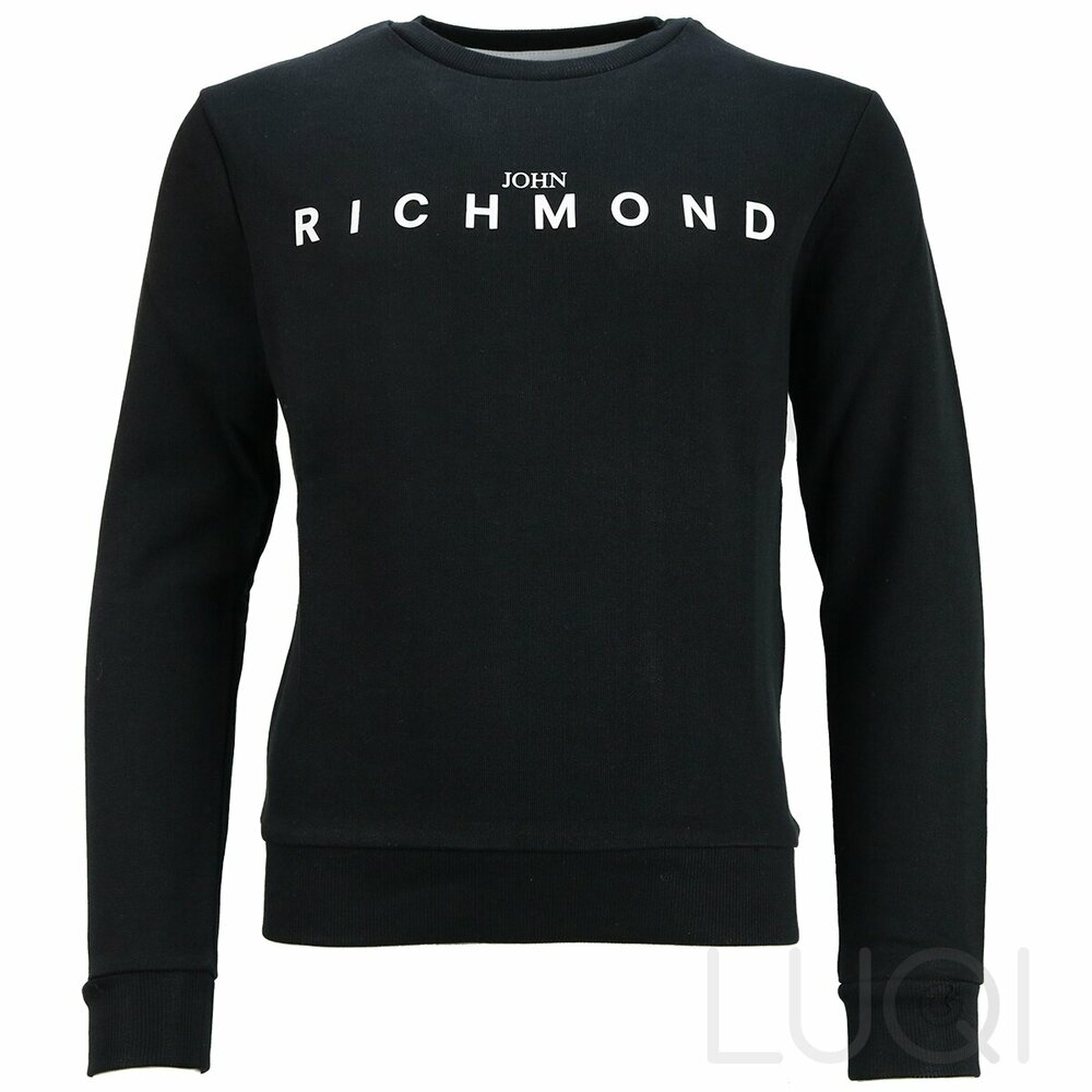 John Richmond Sweatshirt Zwart Wit