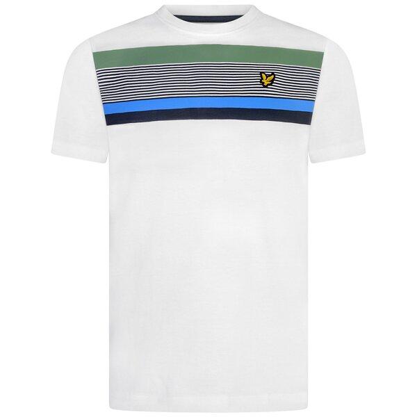 Lyle & Scott shirt stripes wit