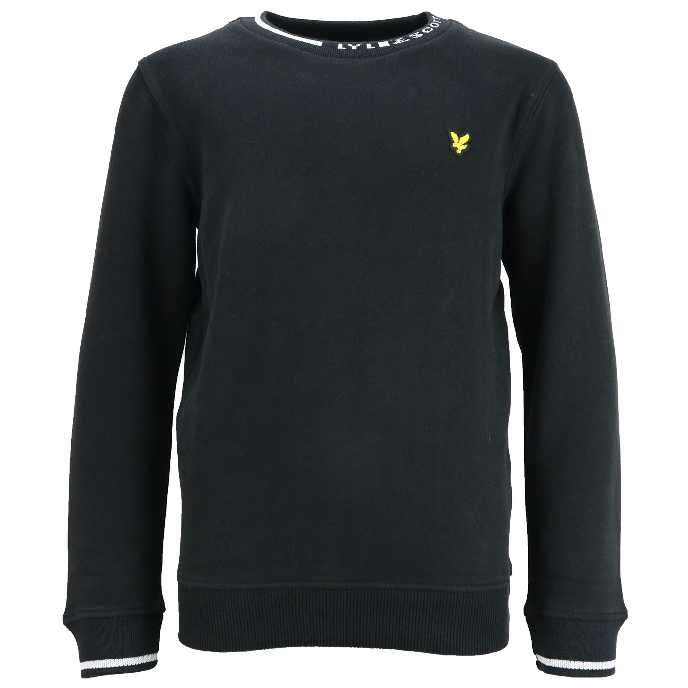 Lyle & Scott Branded sweater zwart LSC0852
