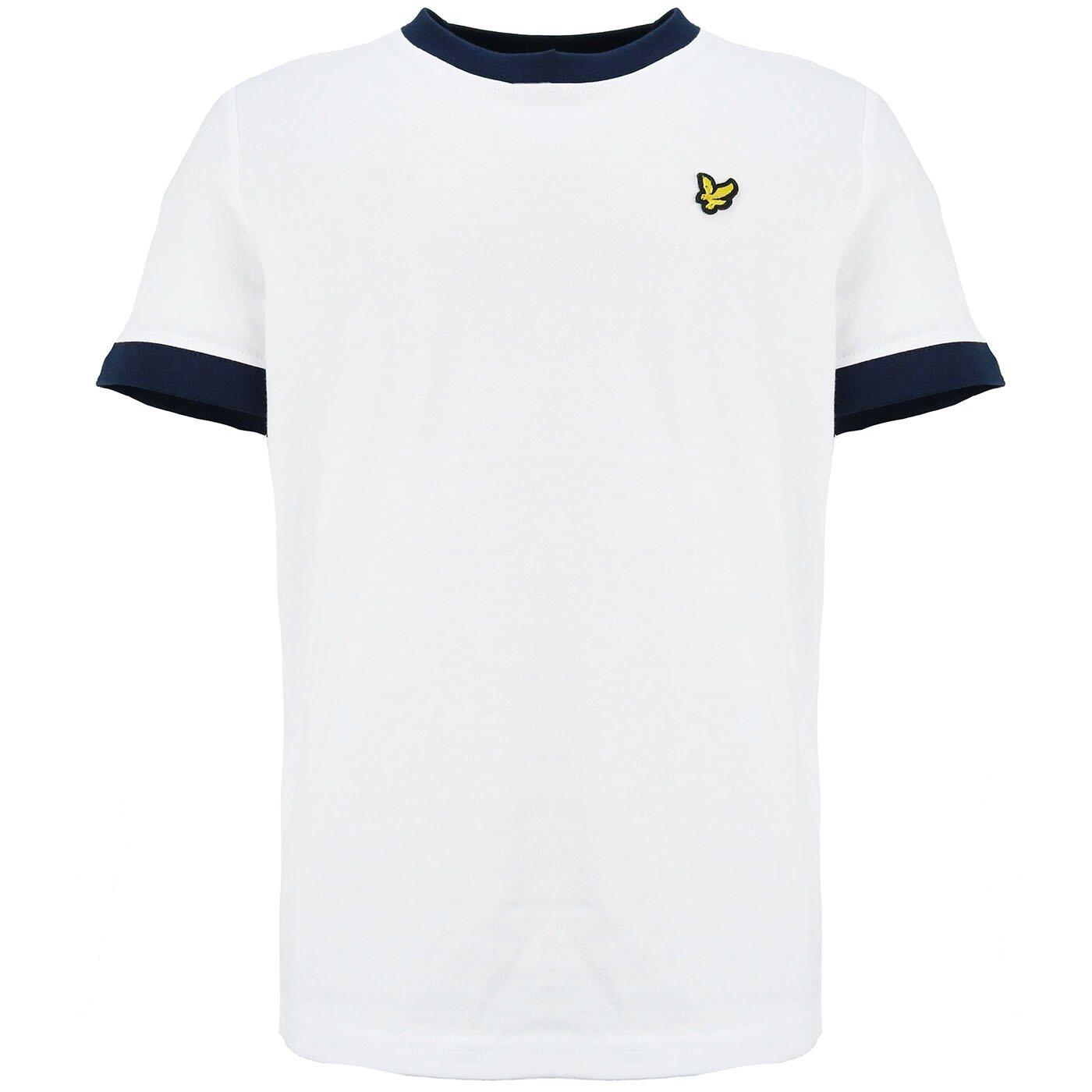 Lyle & Scott Ringer shirt bright white LSC0996