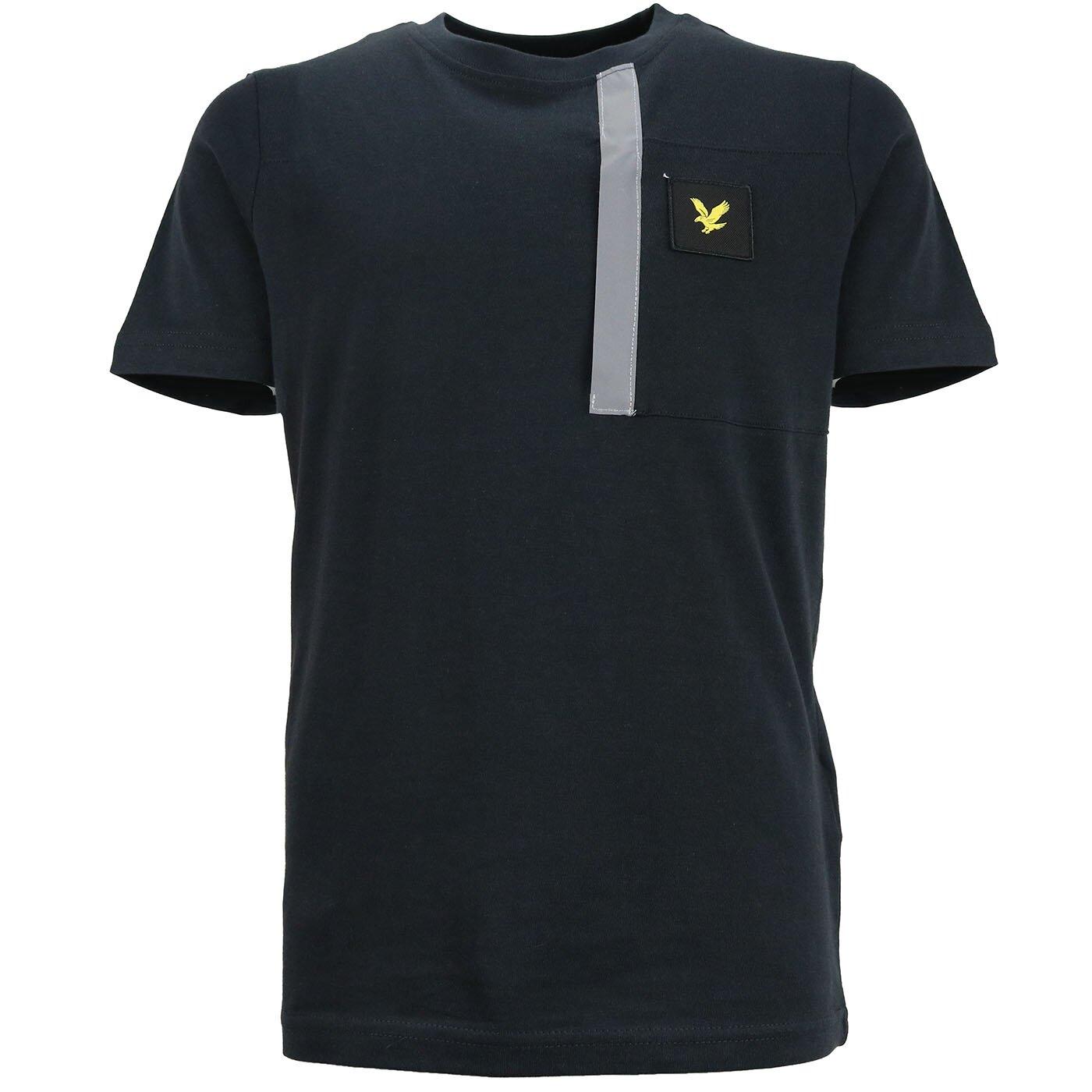 Lyle & Scott Pocket shirt zwart LSC0990