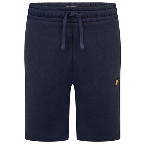 Lyle & Scott classic sweat short donkerblauw