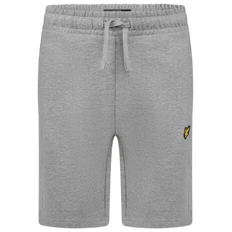 Lyle & Scott classic sweat short grijs