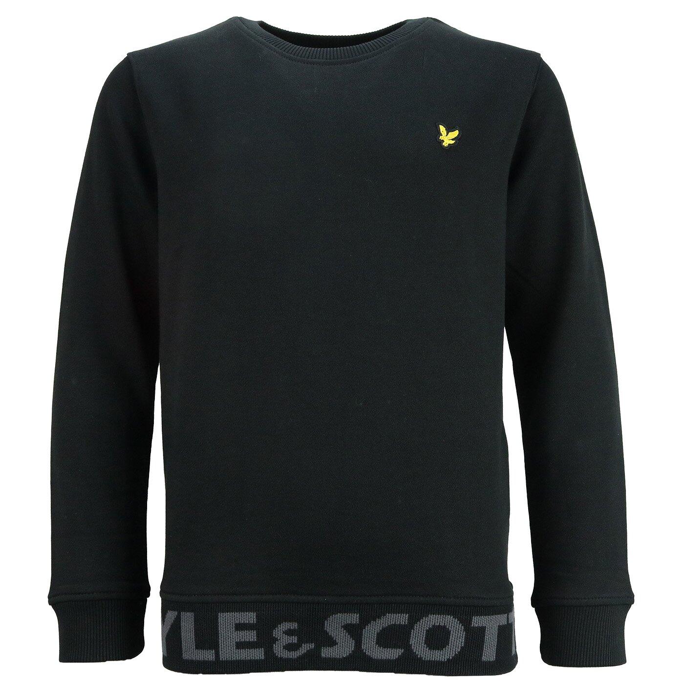 Lyle & Scott sweater Branded Black LSC0976