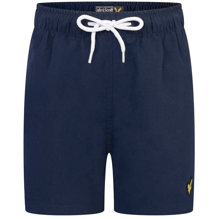 Lyle & Scott swim short donkerblauw