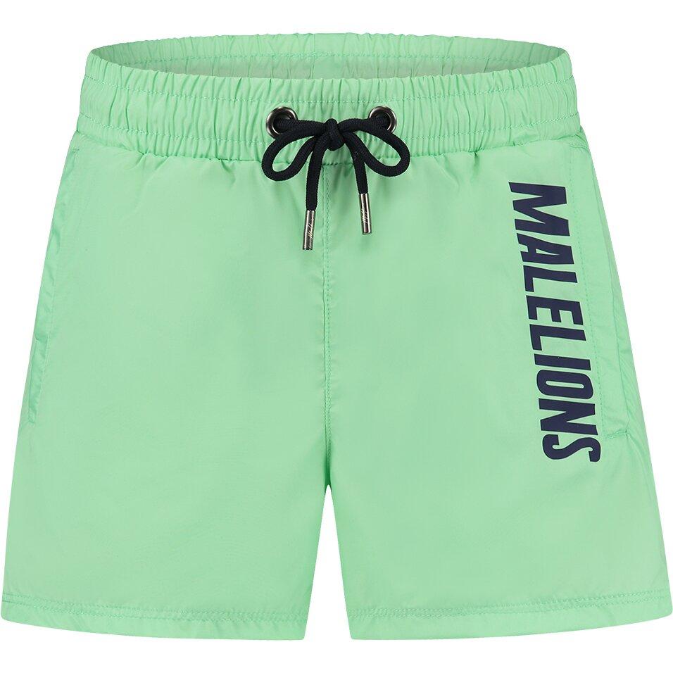 Malelions Junior Nium Swimshort - Mint/Navy