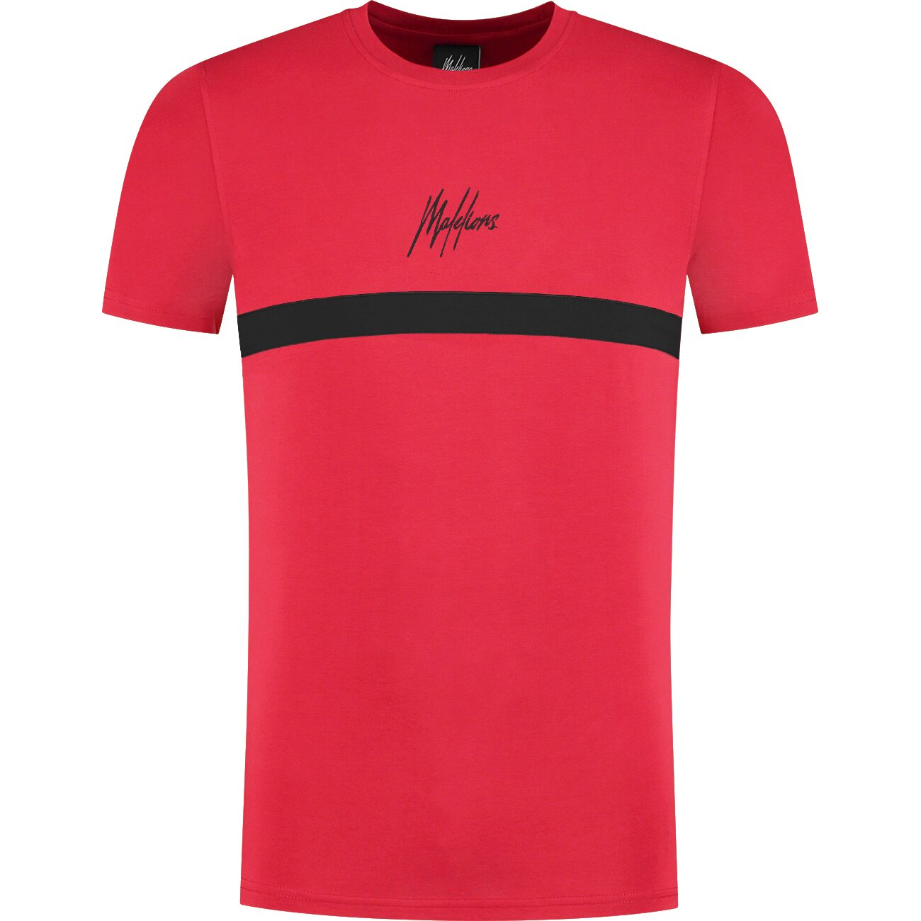 Malelions Junior Tonny T-Shirt - Red/Black