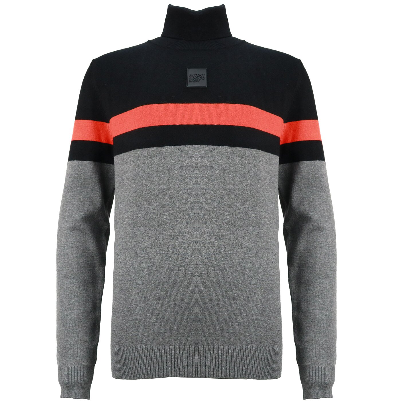 Antony Morato Basic Koltrui Zwart Grijs Oranje