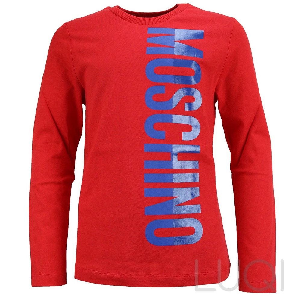 Moschino Shirt Longsleeve Red