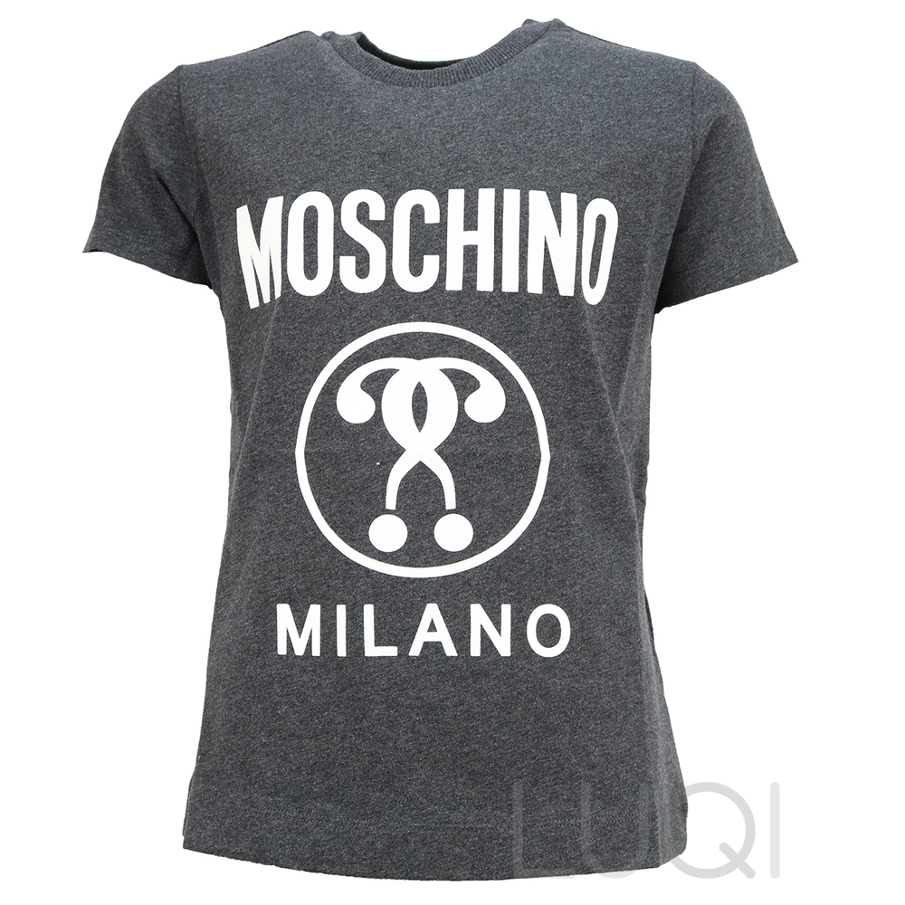 Moschino Shirt Grey White