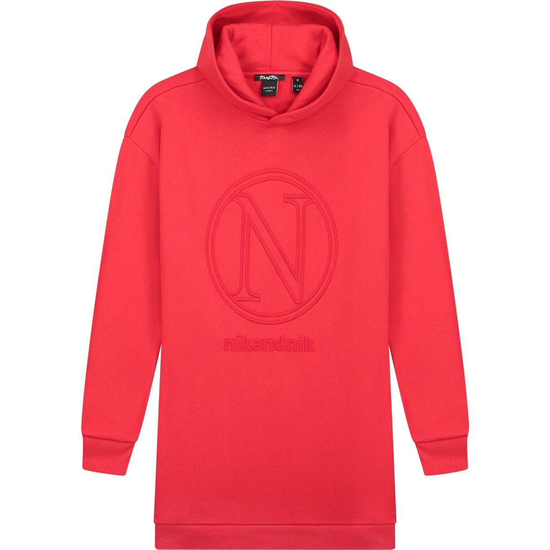 Nik & Nik Vida Sweat Dress Rood G5966