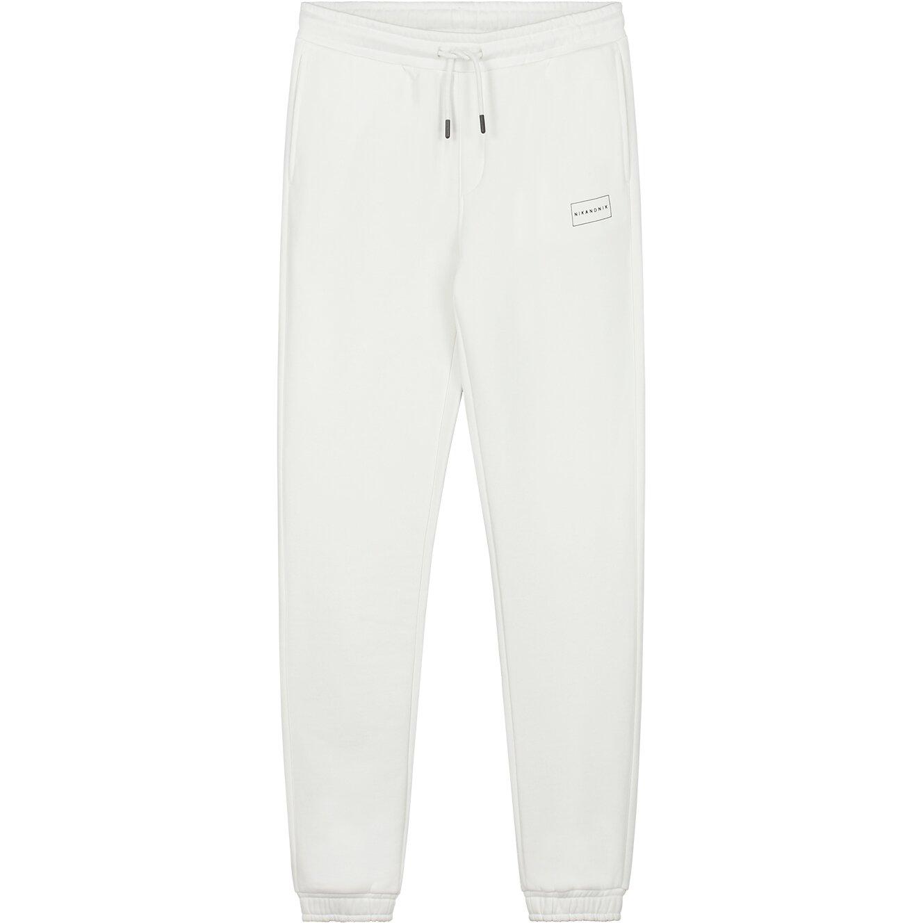 Nik & Nik sweatpants star white Q2583