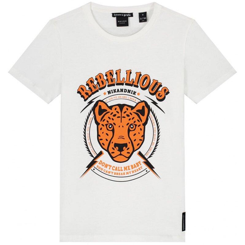 Nik & Nik T shirt Rebellious Off White