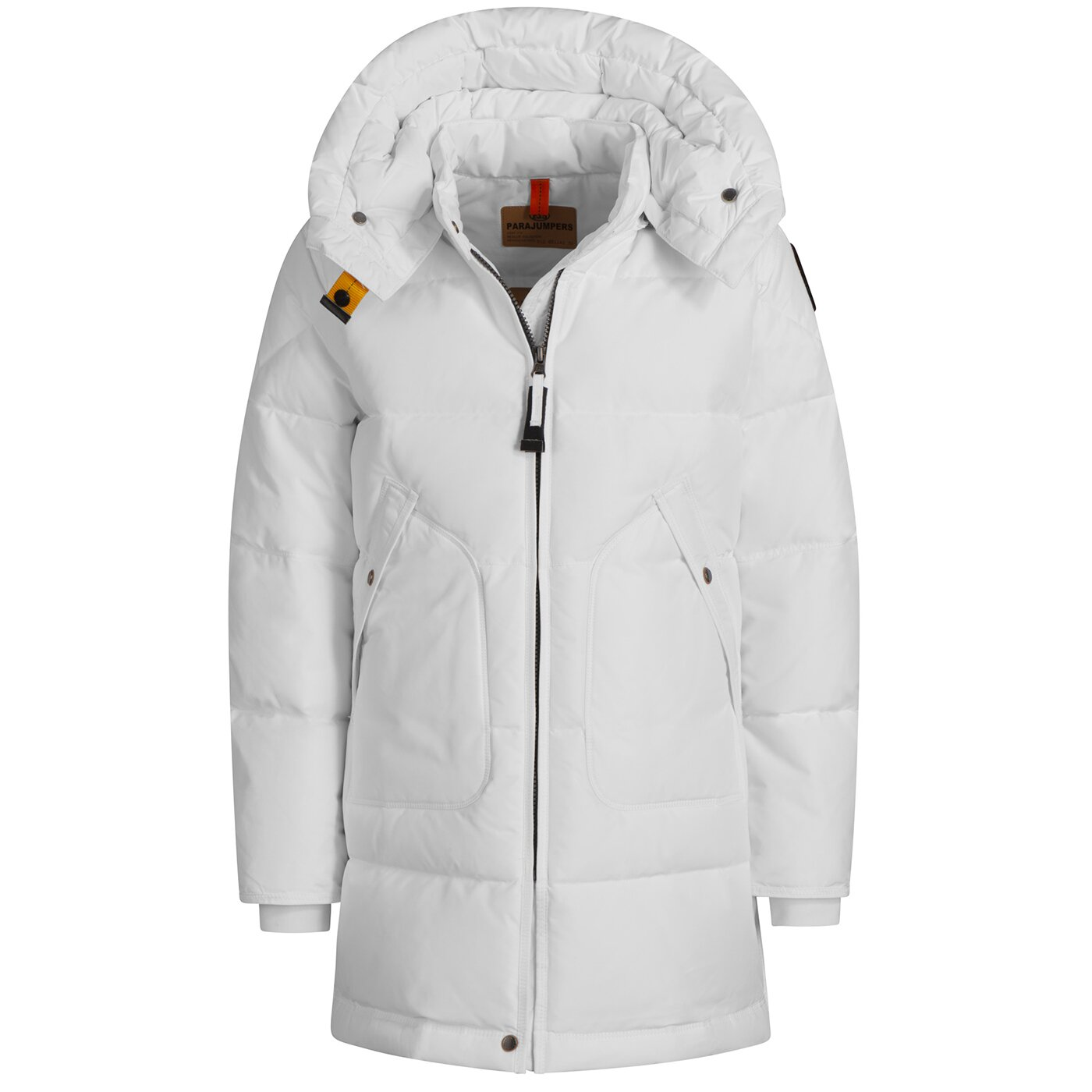 Parajumpers Long Bear Girl Base Off White