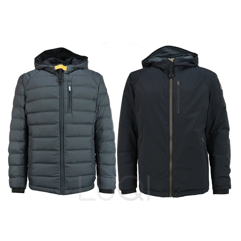 Parajumpers Boys Reversible Antracithe Black