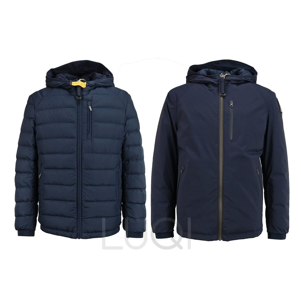 Parajumpers Boys Reversible Blueblack Navy