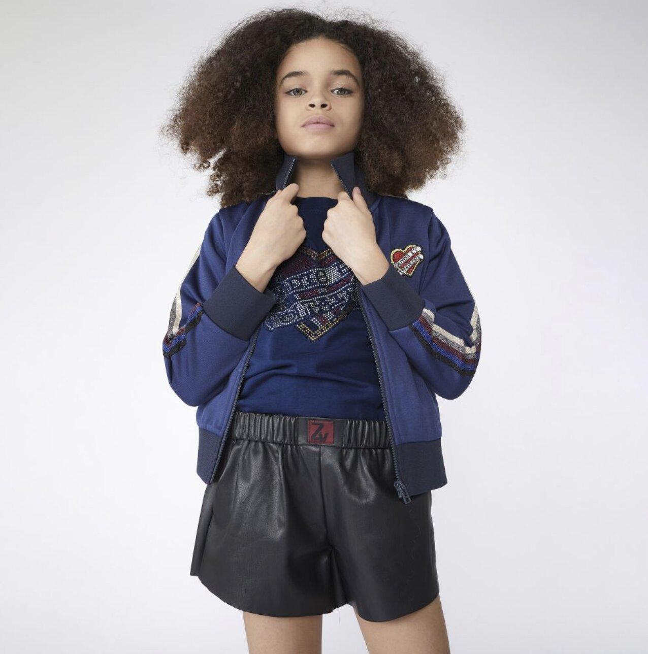Zadig & Voltaire Shirt Blauw X15298