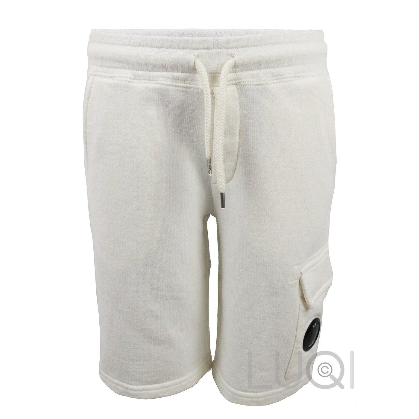 CP Company Sweat Bermuda Off White