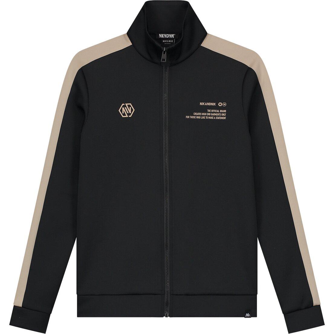 Nik & Nik Walden Trackjacket zwart B 8-024