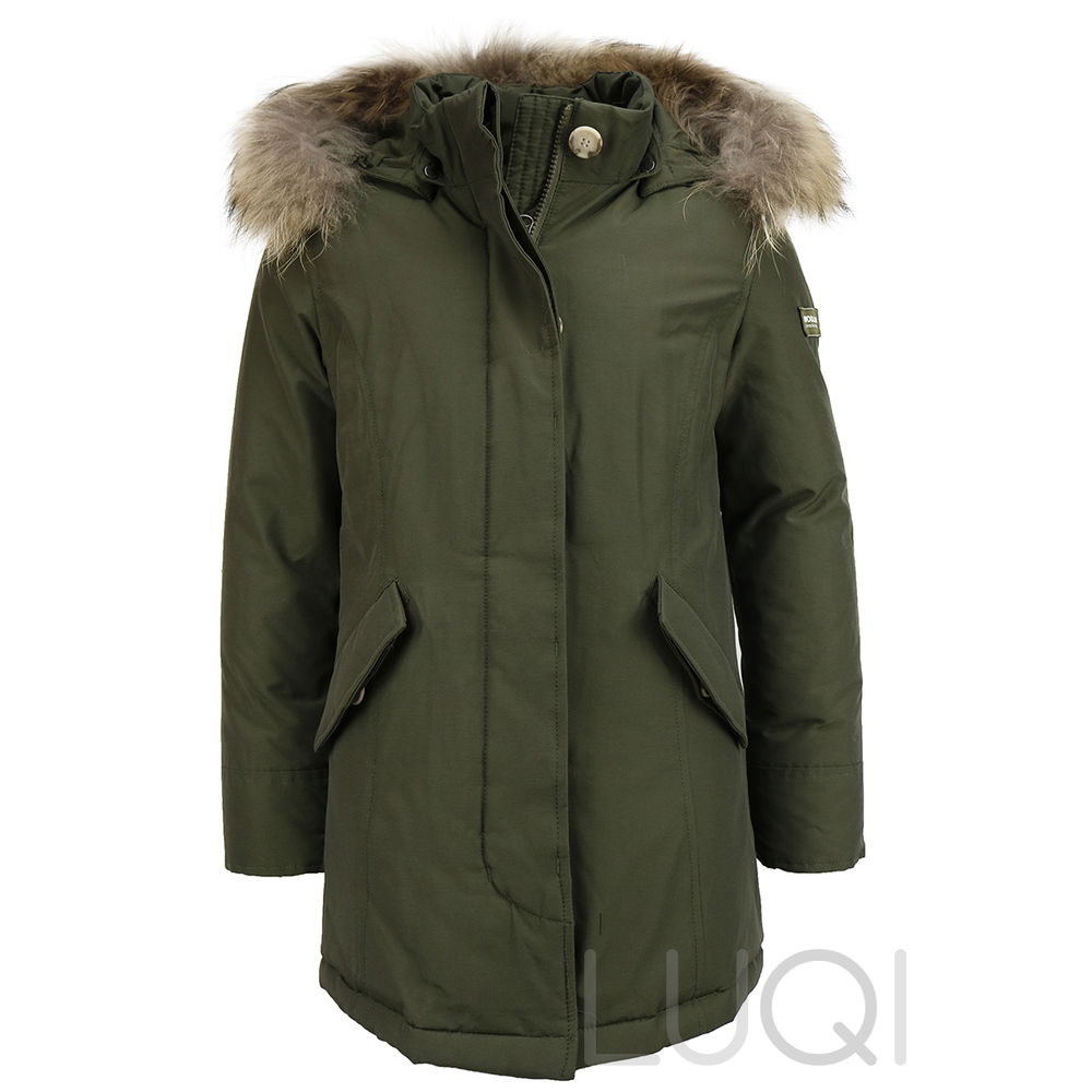 Woolrich Arctic Parka Dark Green (Girls)