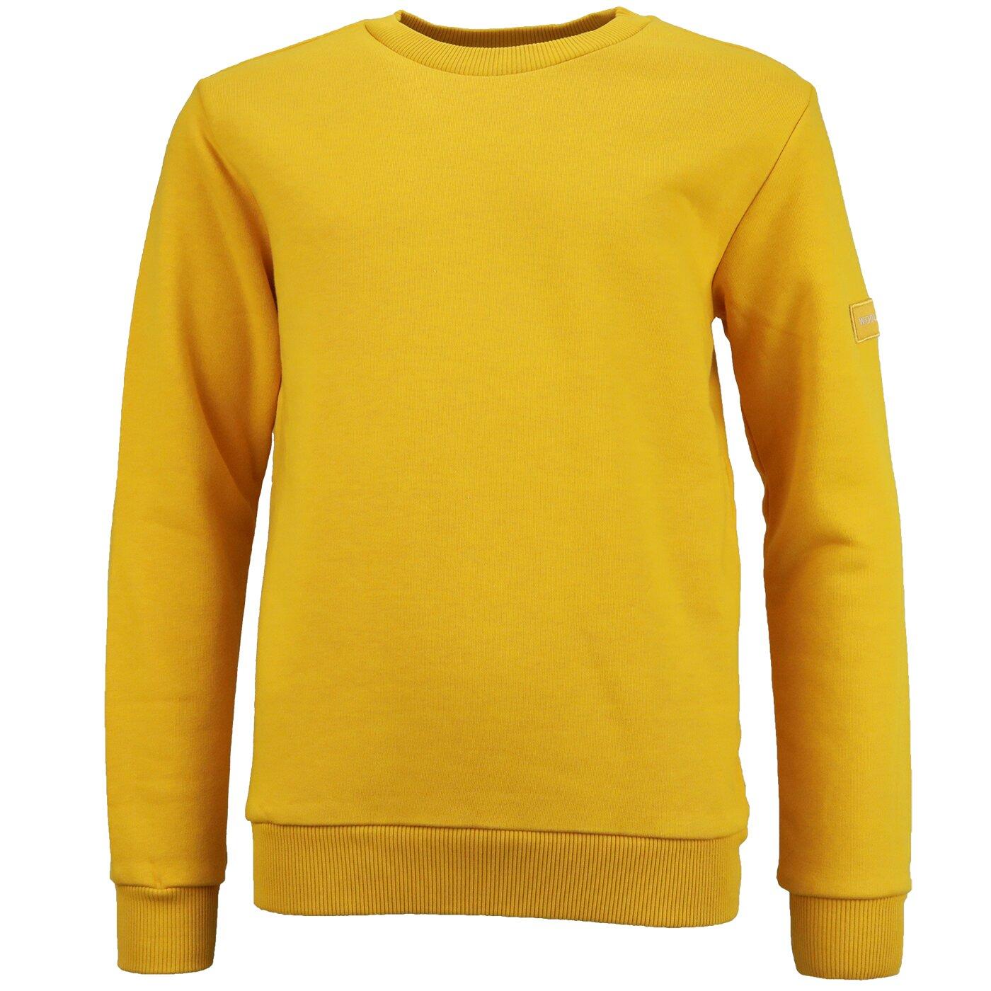Woolrich Classic Sweater Dark Gold