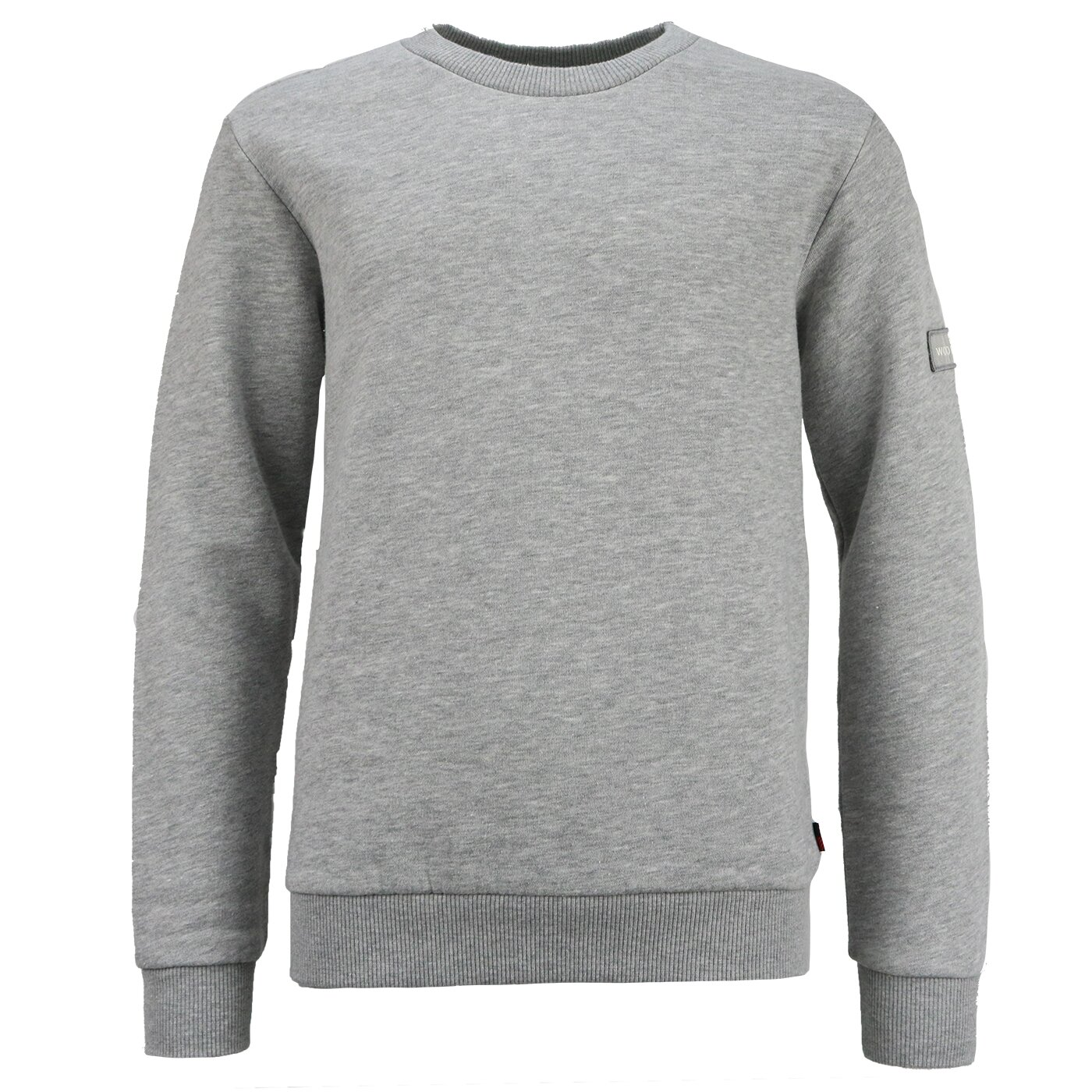 Woolrich Classic Sweater Grey Melange