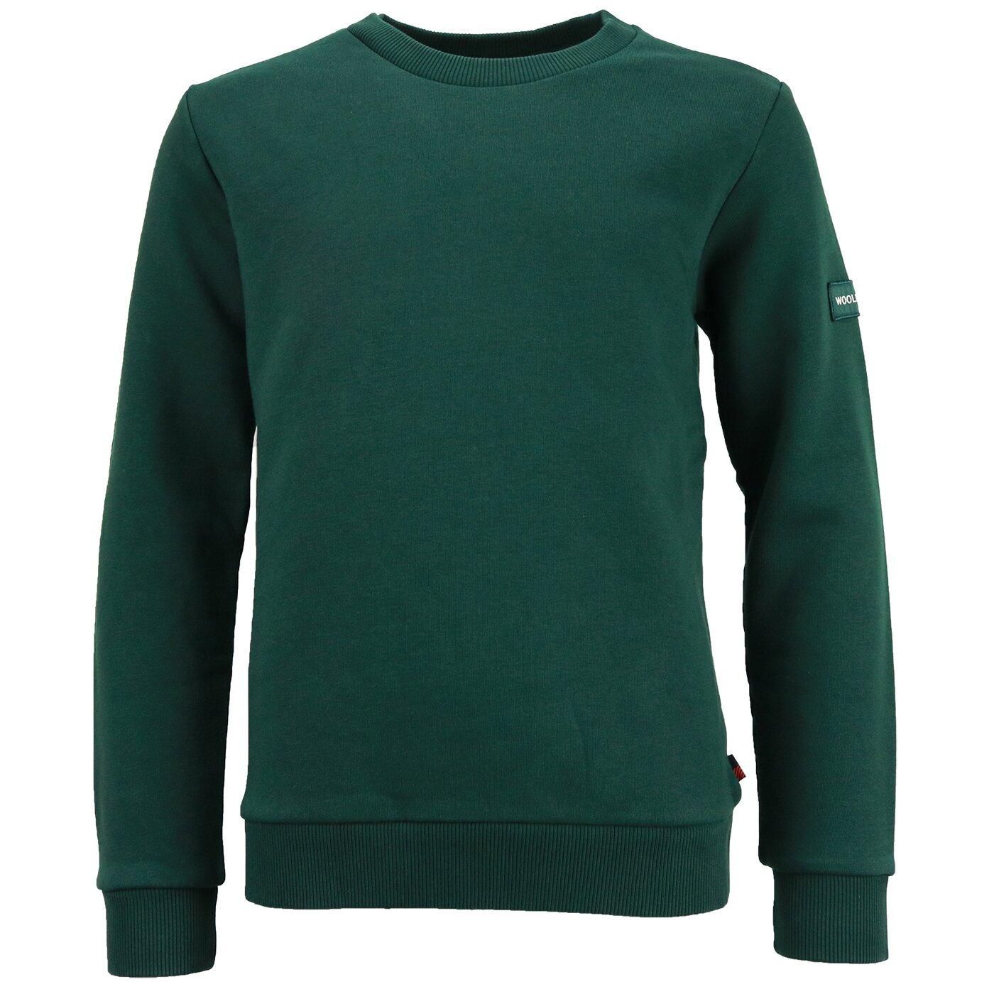 Woolrich Classic Sweater Dark Green