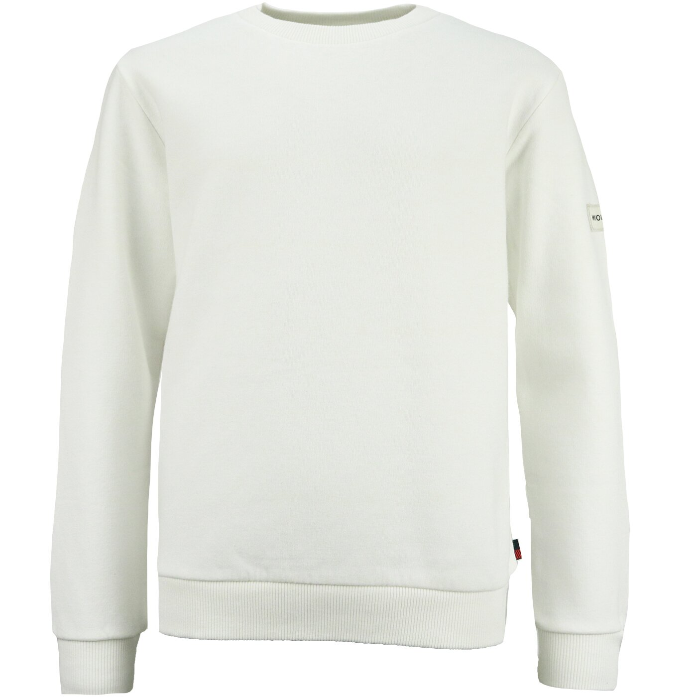 Woolrich Classic Sweater Arctic White