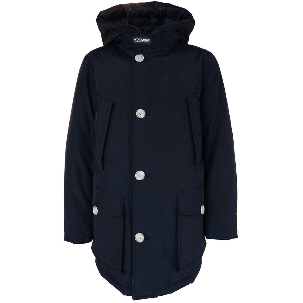 Woolrich Parka No Fur Dark Navy (Boys)