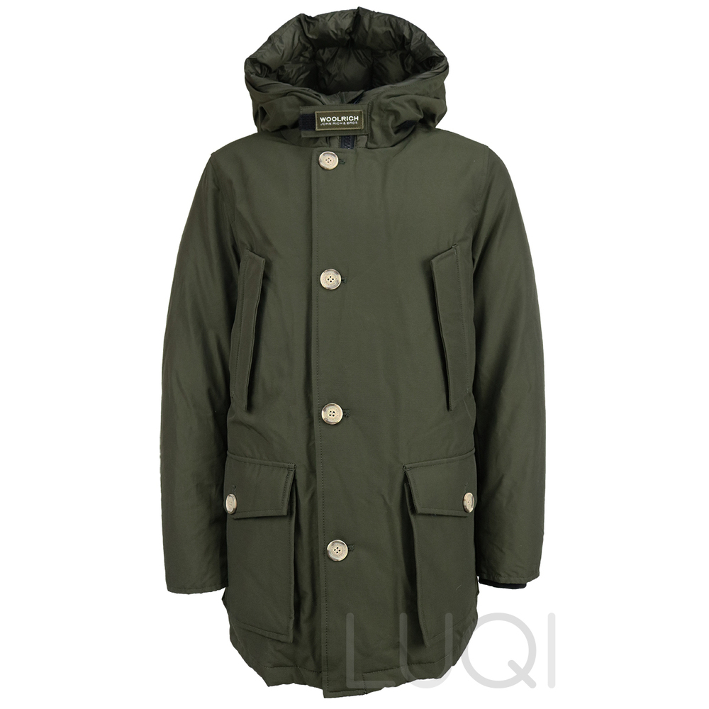 Woolrich Parka No Fur Dark Green (Boys)