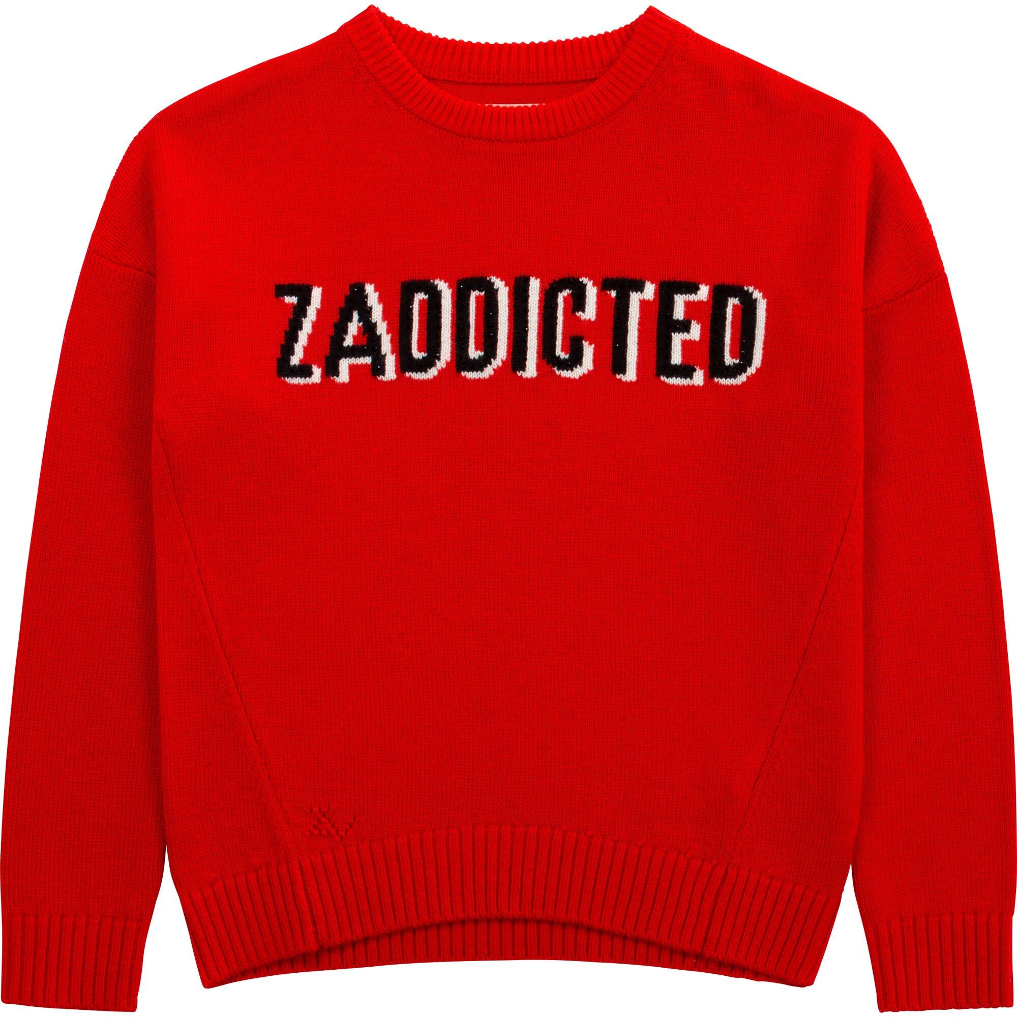 Zadig & Voltaire Trui Rood X15290
