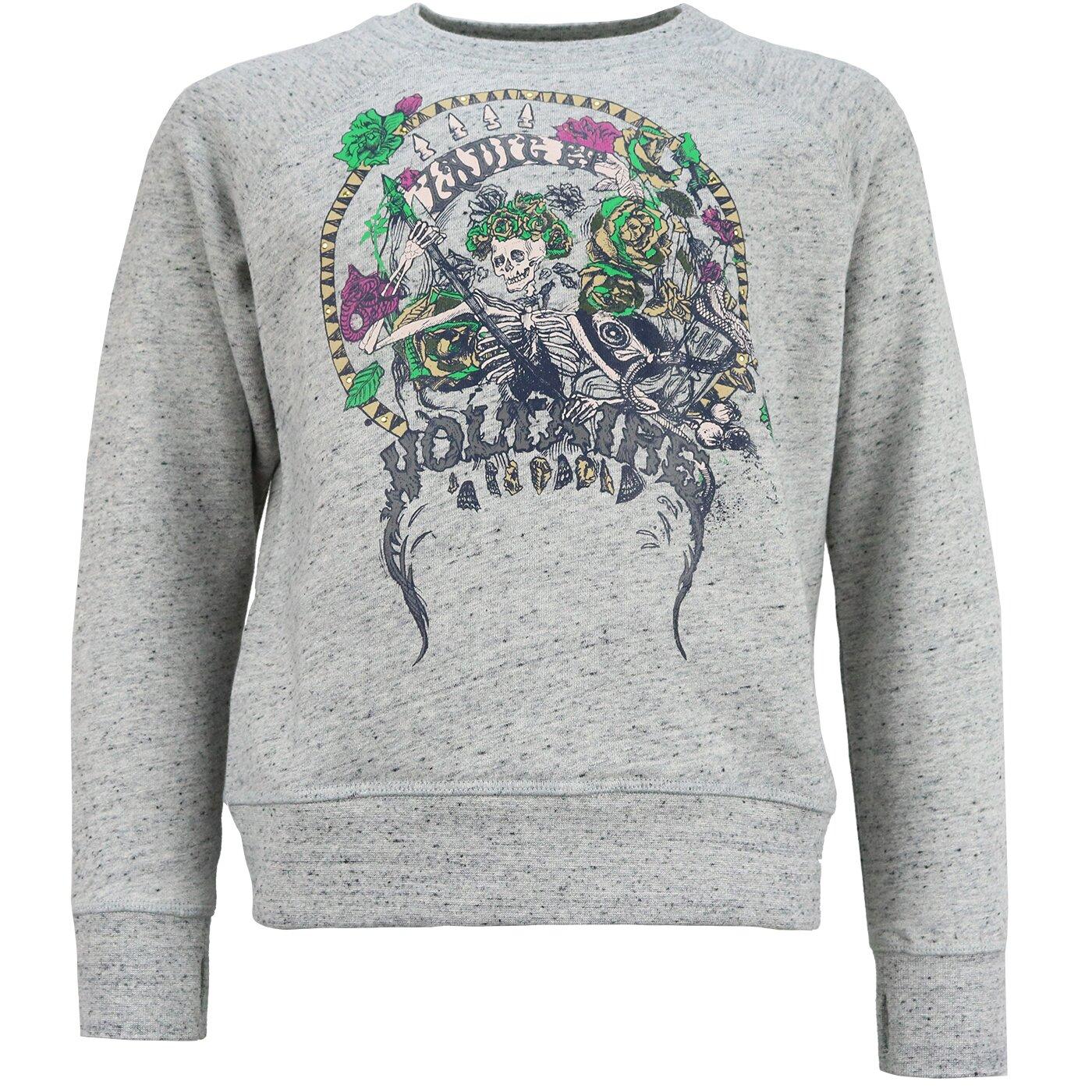 Zadig & Voltaire Sweater Spikkelgrijs X15282