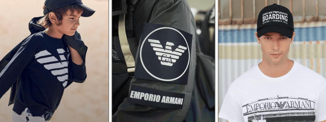 Armani kinderkleding kopen in kindermaten